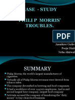 PHILIP MORRIS'     TROUBLES