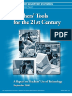 A report on teachers' use of technology