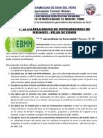 7. PILAR DE LA EBMM - Agosto 2012