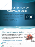 EARLY DETECT_ON OF ASTHMA ATTACKS