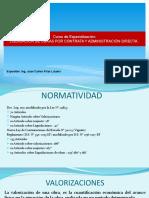 LIQUIDACION DE OBRAS POR CONTRATA Y ADMINISTRACION DIRECTA.ppt