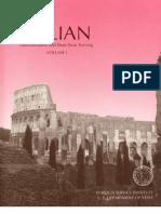 FSI - Italian Familiarization and Short Term Training - Volume 1