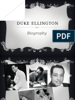 Duke ellington - A short Bio