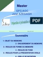 Presentation De La Memoire Stage