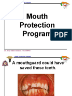 Mouth Protection Info for Trainers