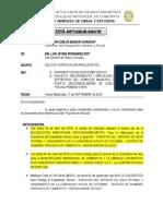 Informe - 2019 Aprobacion de ET