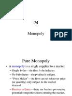 Ch 24 Monopoly