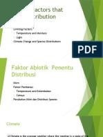 5 Abiotic Factors that limit Distribution-int
