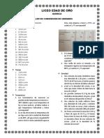 TALLER CONVERSIÓN DE UNIDADES 10°