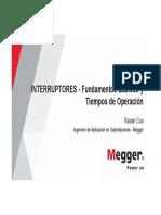1 Interruptores - Fundamentos Básicos y Tiempos de Operación (WI - Ago18)