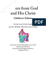 Letters From God and His Christ_Childrens Edition