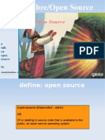 Open Source - a presentation on open source concepts
