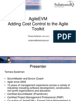 Agile Earned Value Management Workshop)