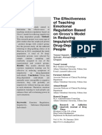 Article (Aazami) The Effectiveness of Teaching Emotional Regulation Based on Gross' Model in Reducing Impulsivity in Drug-Dependent People.pdf