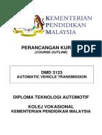 2) DMD 3123 -CO  AUTOMATIC VEHICLE TRANSMISSION