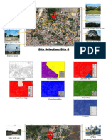 Site selection Site A and C
