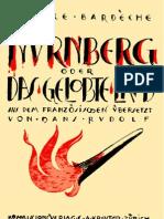 Bardeche, Maurice - Nuernberg Oder Das Gelobte Land (1949) 161 Seiten