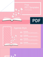 Opened-Book-with-Paper-Cranes-PowerPoint-Templates