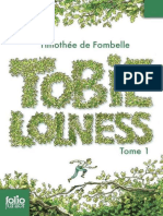 Timothee de Fombelle -Tobie Lolness 1
