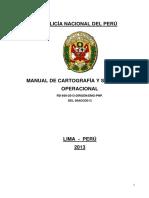 MANUAL DE CARTOGRAFIA Y SIMBOLOGIA OPERACIONAL