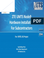 ZTE UMTS nodeB Installation for STS