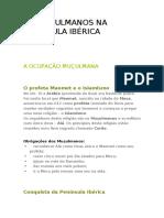 OS MUÇULMANOS NA PENÍNSULA IBÉRICA.docx