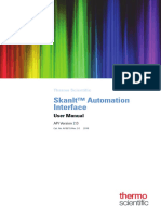 SkanIt Automation Interface 2.0 User Manual
