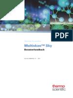 Multiskan Sky User Manual German