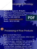 Cereal 4 Rice Products