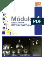 MÓDULO 1-NUESTRA HERENCIA -MEMORIA DE UNA CIUDAD DE PRESIDENTES, SABIOS Y POETAS.pdf