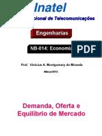 Economia aula3 Oferta,Demanda e Equilíbrio