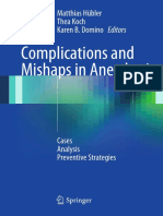 Complications and Mishaps in Anesthesia - Hbler, Matthias, Koch, Thea, Domino, Karen B..pdf