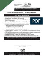Caranaíba - SUPERIOR - engenheiro civil
