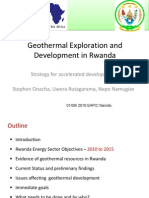Onacha Rwanda Geothermal Resources Development