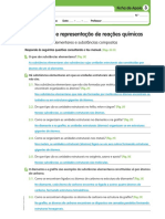 Físico-Química - 8º ano - Ficha de Apoio 3 - Soluções