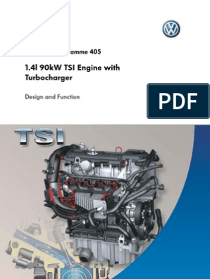 SSP 405 1 4l 90kW TSI Engine With Turbocharger