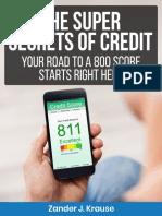 The Super Secrets of Credit eBook