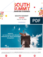 Overview South Summit México powered by IE 2020 ALL