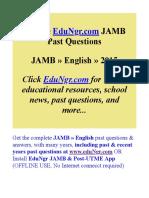 JAMB-English-Past-Questions-EduNgr-Sample