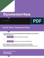 PPT LI - Dysmenorrhea.pptx