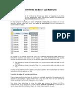 Fechas de vencimiento en Excel con formato condicional