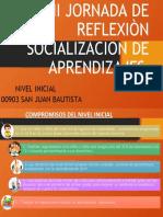 II JORNADA DE REFLEXIÒN SOCIALIZACION DE APRENDIZAJES
