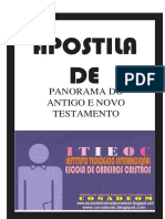 PANORAMA DO ANTIGO E NOVO TESTAMENTO