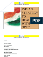 Mba Project on Opec