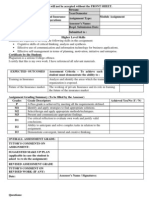 Business PCL I Fin Banking Insurance Industry Operations Module Assignment 2