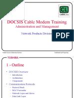 DOCSIS Training - Admin.ppt