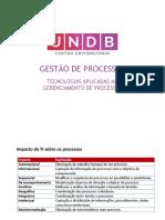 GESTÃO DE PROCESSOS - Tecnologias aplicadas à gestão de processos_2