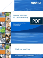 Uponor Solutions for Radiant Cooling