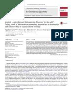 Epitropaki et al. (2013) - ILT & IFT