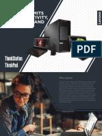 Lenovo Wrokstation product presentation